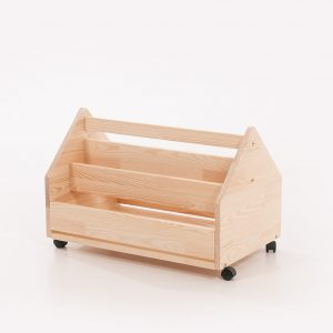 Rolling toy box Gatto