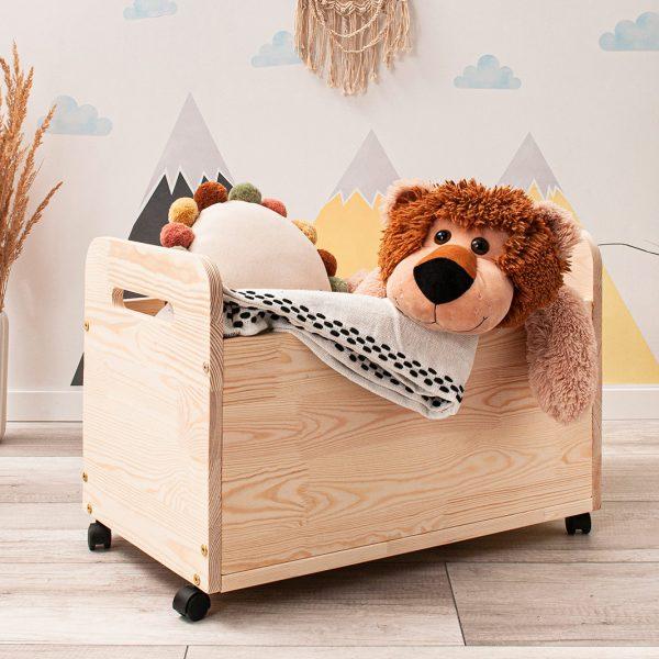 Rolling toy box Tsatsu