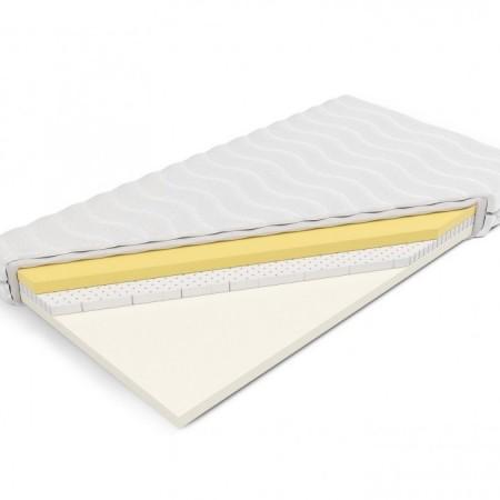 Memory foam mattress with latex - 14cm